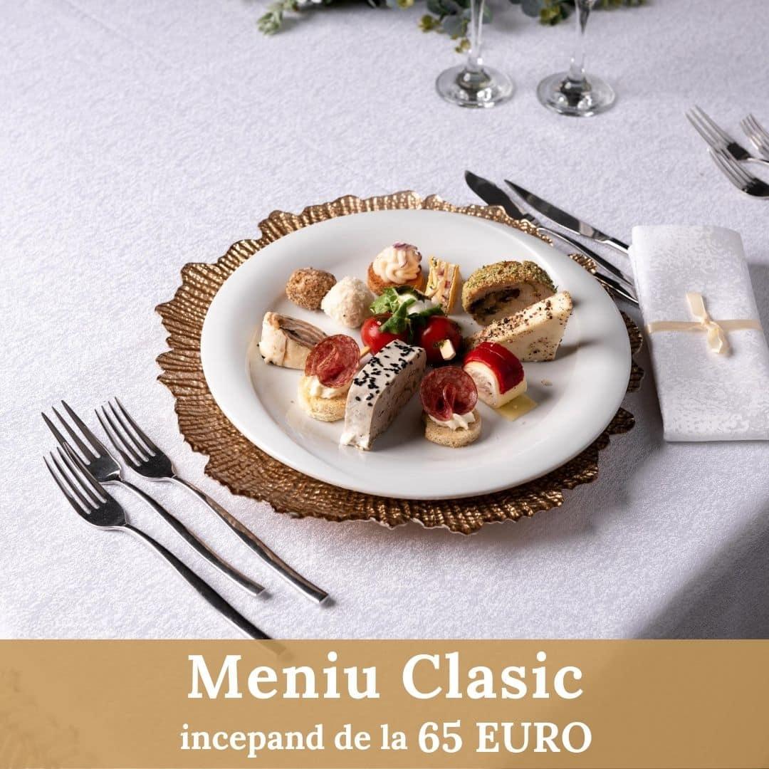 Meniu Clasic - Nunta - Cernica Events