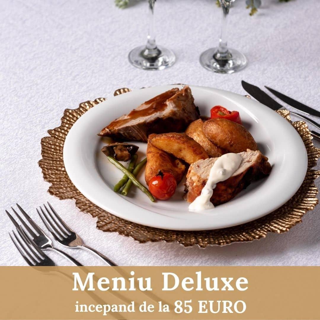 Meniu Deluxe - Nunta - Cernica Events