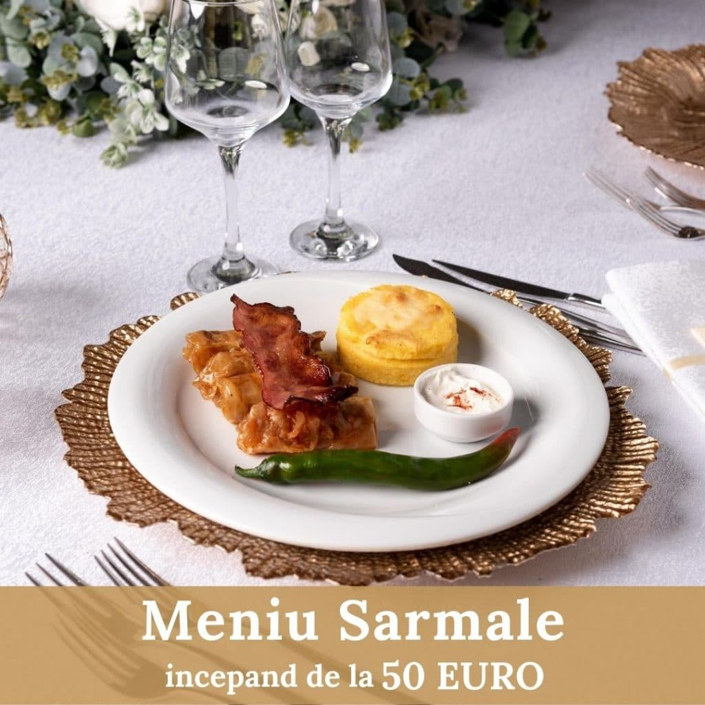 Meniu Sarmale - Botez - Cernica Events