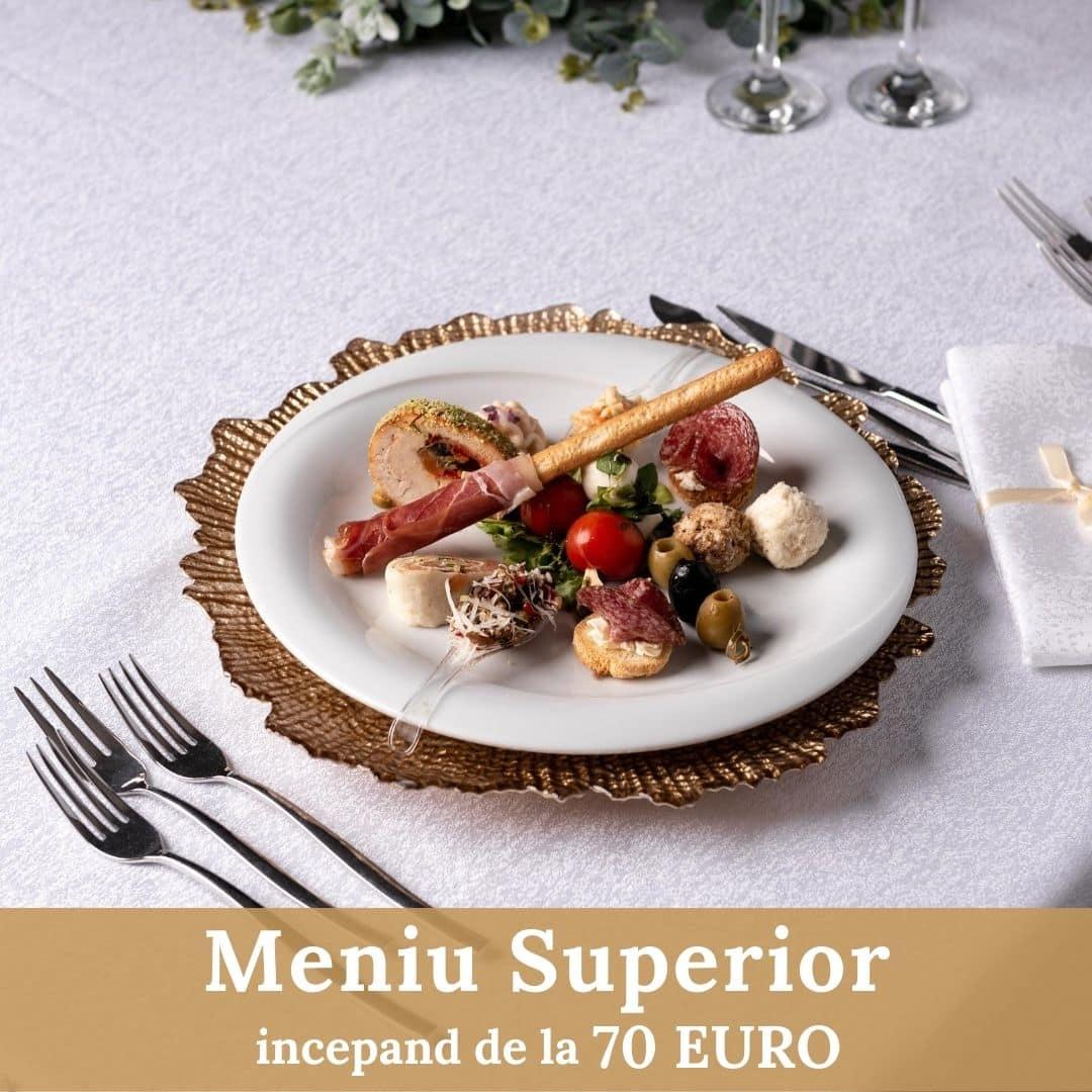 Meniu Superior - Nunta - Cernica Events