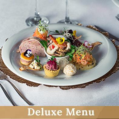 Deluxe Menu - Cernica Events